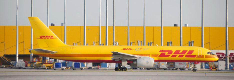 DHL_Frachtflugzeug